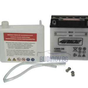 4Ride 9Ah 85A R+ мото акумулатор от budinov.bg онлайн магазин за авточасти