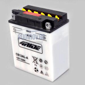 4Ride 12Ah 165A R+ мото акумулатор от budinov.bg онлайн магазин за авточасти