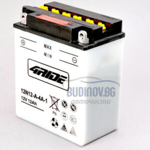 4Ride 12Ah 113A L+ мото акумулатор от budinov.bg онлайн магазин за авточасти