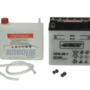 4Ride 9Ah 85A L+ мото акумулатор от budinov.bg онлайн магазин за авточасти