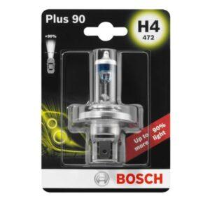 Крушка H4 Bosch Plus 90% от budinov.bg онлайн магазин за авточасти