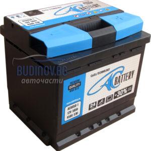 AC Battery 50Ah 450A R+ акумулатор от budinov.bg онлайн магазин за авточасти