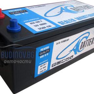 AC Battery 180Ah 1250A SMF R+ акумулатор от budinov.bg онлайн магазин за авточасти