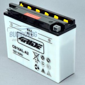 4Ride 16Ah 200A R+ мото акумулатор от budinov.bg онлайн магазин за авточасти