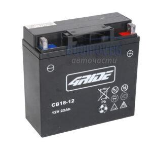 4Ride 22Ah 235A AGM R+ мото акумулатор от budinov.bg онлайн магазин за авточасти