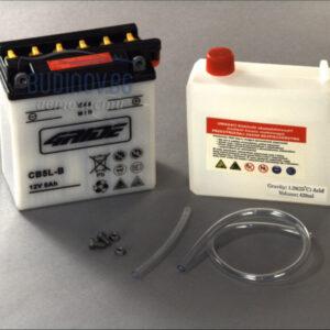 4Ride 5Ah 65A R+ мото акумулатор от budinov.bg онлайн магазин за авточасти
