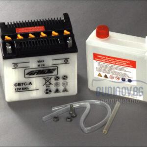 4Ride 7Ah 90A R+ мото акумулатор от budinov.bg онлайн магазин за авточасти