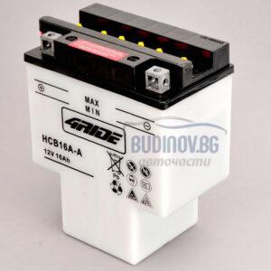 4Ride 16Ah 210A L+ мото акумулатор от budinov.bg онлайн магазин за авточасти