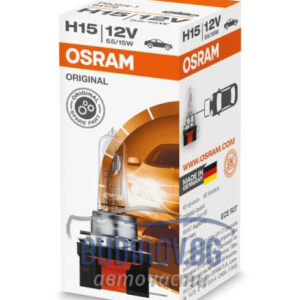 Крушка H15 Osram Standard от budinov.bg онлайн магазин за авточасти