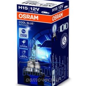 Крушка H15 Osram Cool Blue Intense от budinov.bg онлайн магазин за авточасти