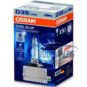 Ксенонова крушка D3S 6000K Osram Cool Blue Intense от budinov.bg онлайн магазин за авточасти