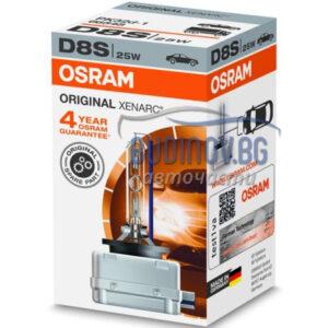 Ксенонова крушка D8S 4500K Osram Xenarc от budinov.bg онлайн магазин за авточасти