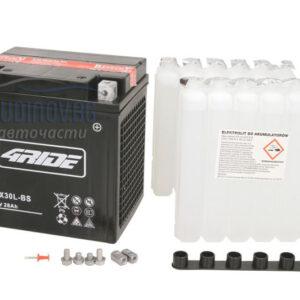 4Ride 28Ah 385A AGM R+ мото акумулатор от budinov.bg онлайн магазин за авточасти