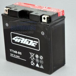 4Ride 12Ah 175A AGM L+ мото акумулатор от budinov.bg онлайн магазин за авточасти