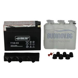 4Ride 2,3Ah 40A AGM L+ мото акумулатор от budinov.bg онлайн магазин за авточасти