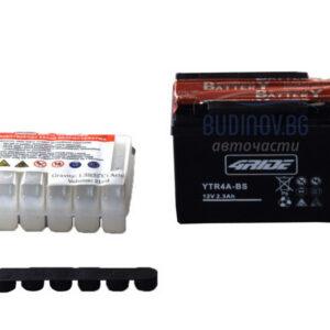 4Ride 2,3Ah 45A AGM L+ мото акумулатор от budinov.bg онлайн магазин за авточасти