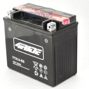 4Ride 12Ah 200A AGM L+ мото акумулатор от budinov.bg онлайн магазин за авточасти