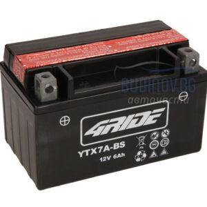 4Ride 6Ah 90A AGM L+ мото акумулатор от budinov.bg онлайн магазин за авточасти