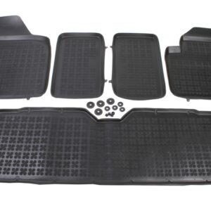 Гумени стелки за Ford Galaxy, VW Sharan, Seat Alhambra 1996-2010 5 бр. Комплект от budinov.bg онлайн магазин за авточасти