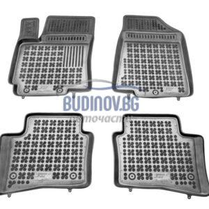 Гумени стелки за Kia Rio 2011+ 4 бр. комплект от budinov.bg онлайн магазин за авточасти
