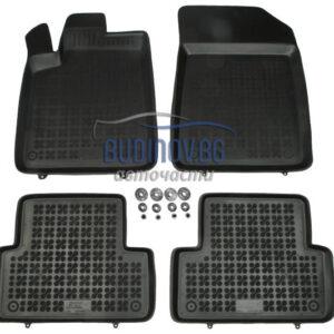 Гумени стелки за Citroen C5 2001-2008 4 бр. Комплект от budinov.bg онлайн магазин за авточасти