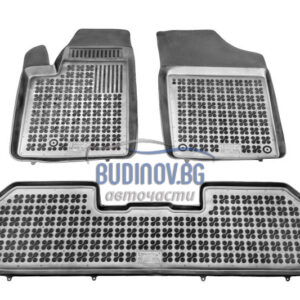 Гумени стелки за Citroen Berlingo, Peugeot Partner 1996-2015 3 бр. Комплект от budinov.bg онлайн магазин за авточасти