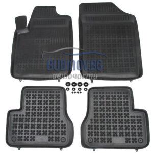 Гумени стелки за Citroen C3 2002-2009 4 бр. Комплект от budinov.bg онлайн магазин за авточасти