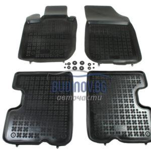 Гумени стелки за Dacia Duster 2010+ 4 бр. Комплект от budinov.bg онлайн магазин за авточасти