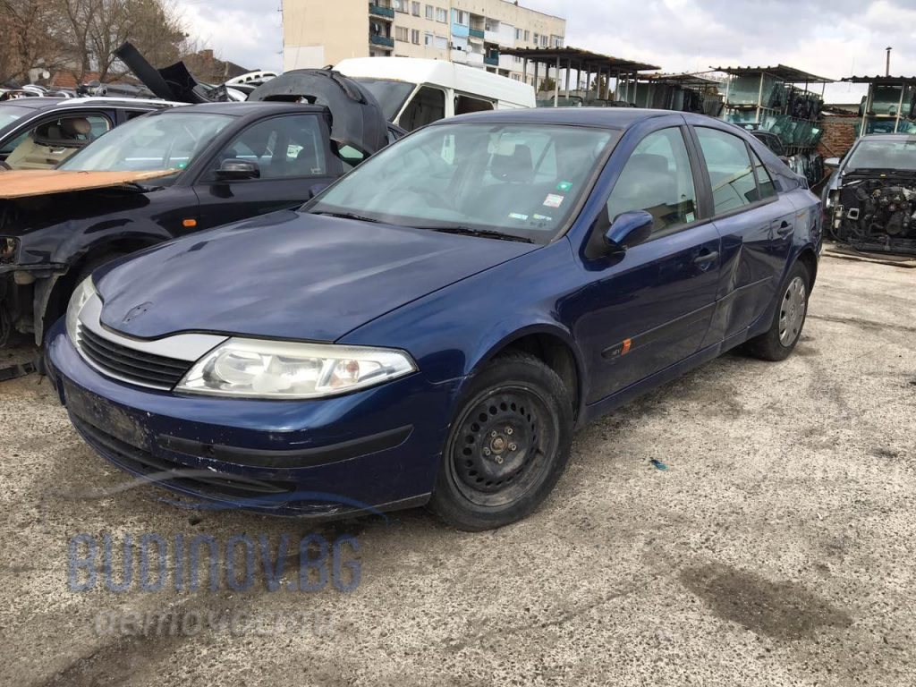 Renault Laguna 2001 г. 1,6 бензин 107 к.с. на части от Budinov.bg